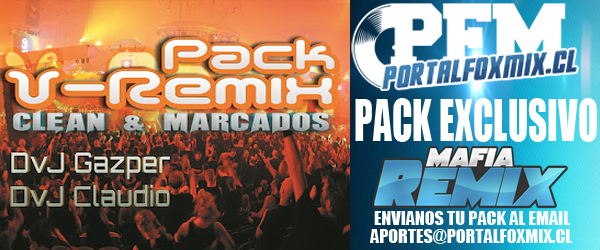 4788: Pack V-Remix by DvJ Gazper y DvJ Claudio