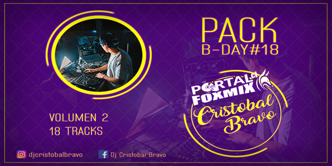 Pack Vol 2 Cristobal Bravo B-DAY#18