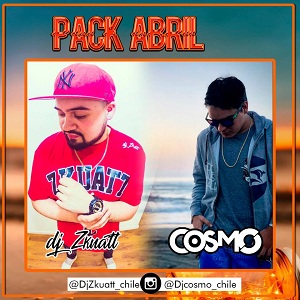 Pack Abril Dj Cosmo Ft Dj Zkuatt